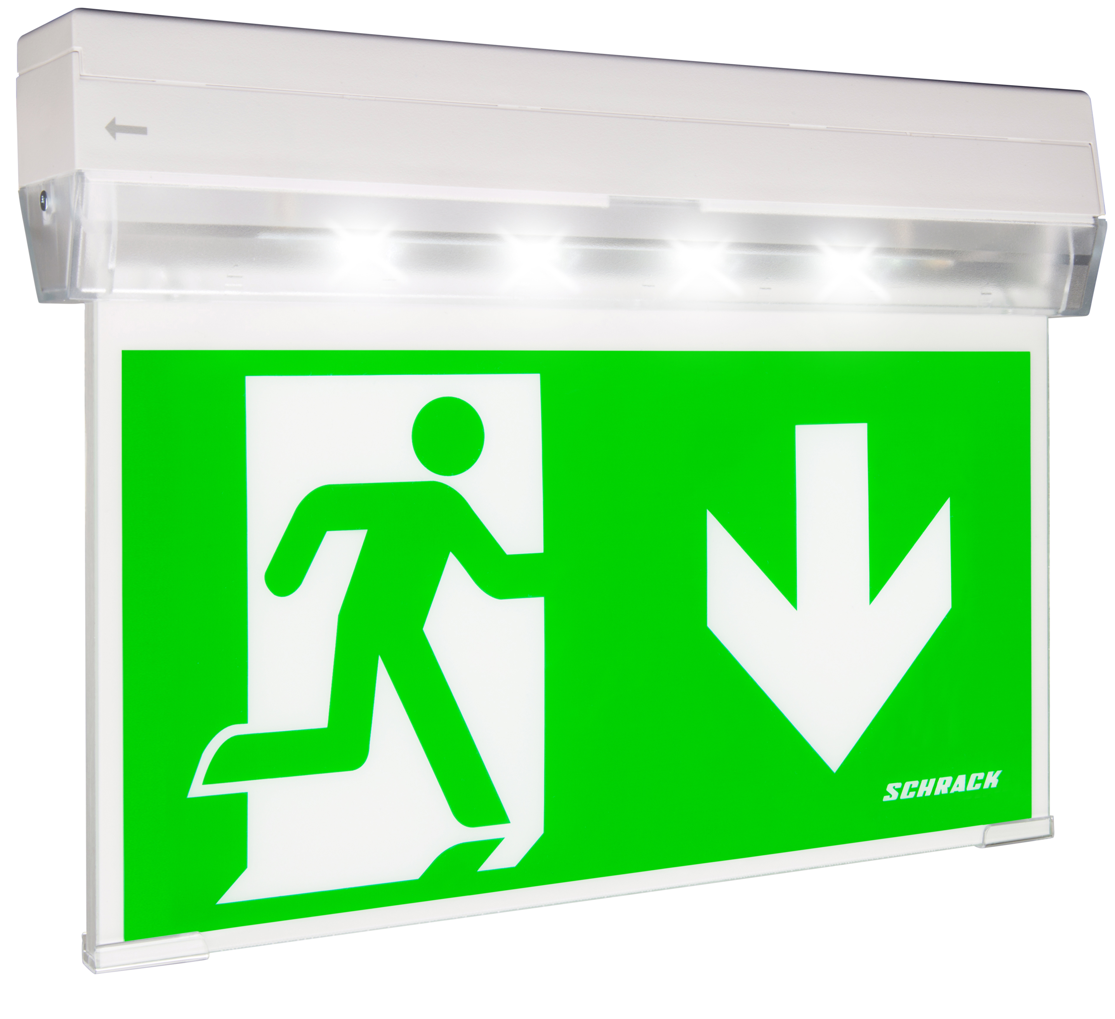 1 Stk Notleuchte KX Überwachung und Mischbetrieb ERT-LED 230V NLKXU039ML