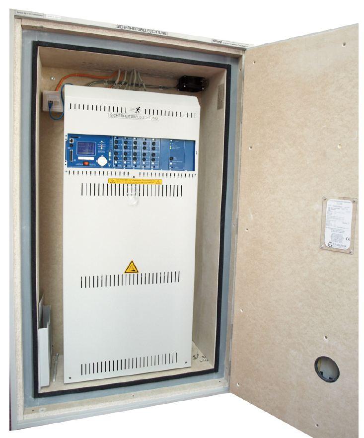 E30 Schrank für Gruppenbatterieanlage MN mit Lüfter