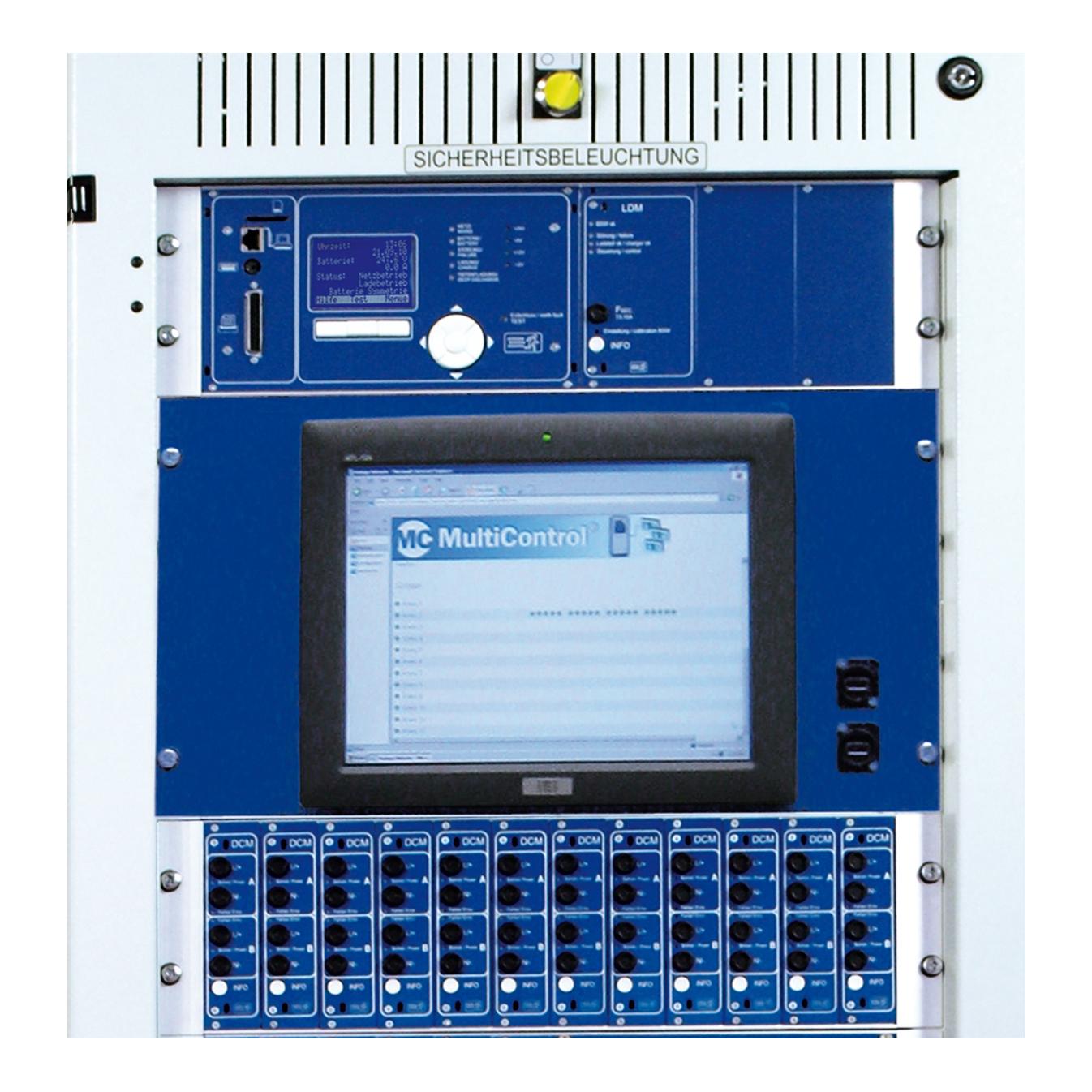 Aufzahlung Panel / Tablet PC mit Touchscreen zum Fronteinbau
