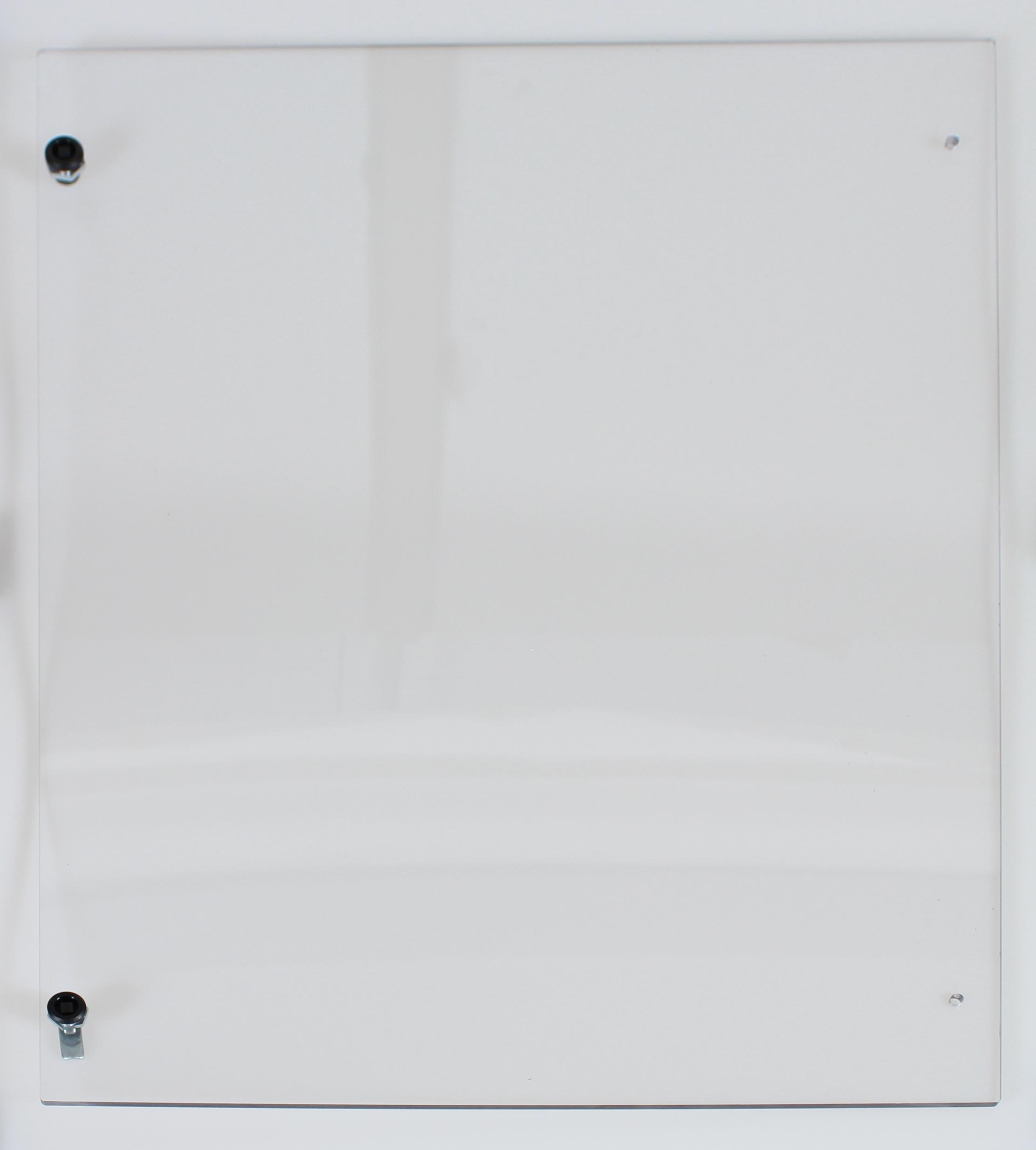 Polycarbonat Sichttür (BxH = 480x530mm) für Schrank H=1850mm