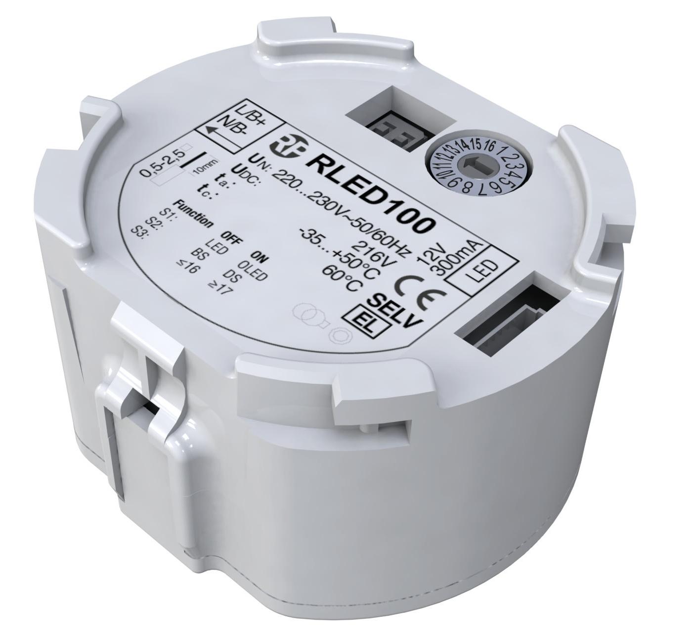Netzteil mit Überwachungsfunktion für LED Notleuchten