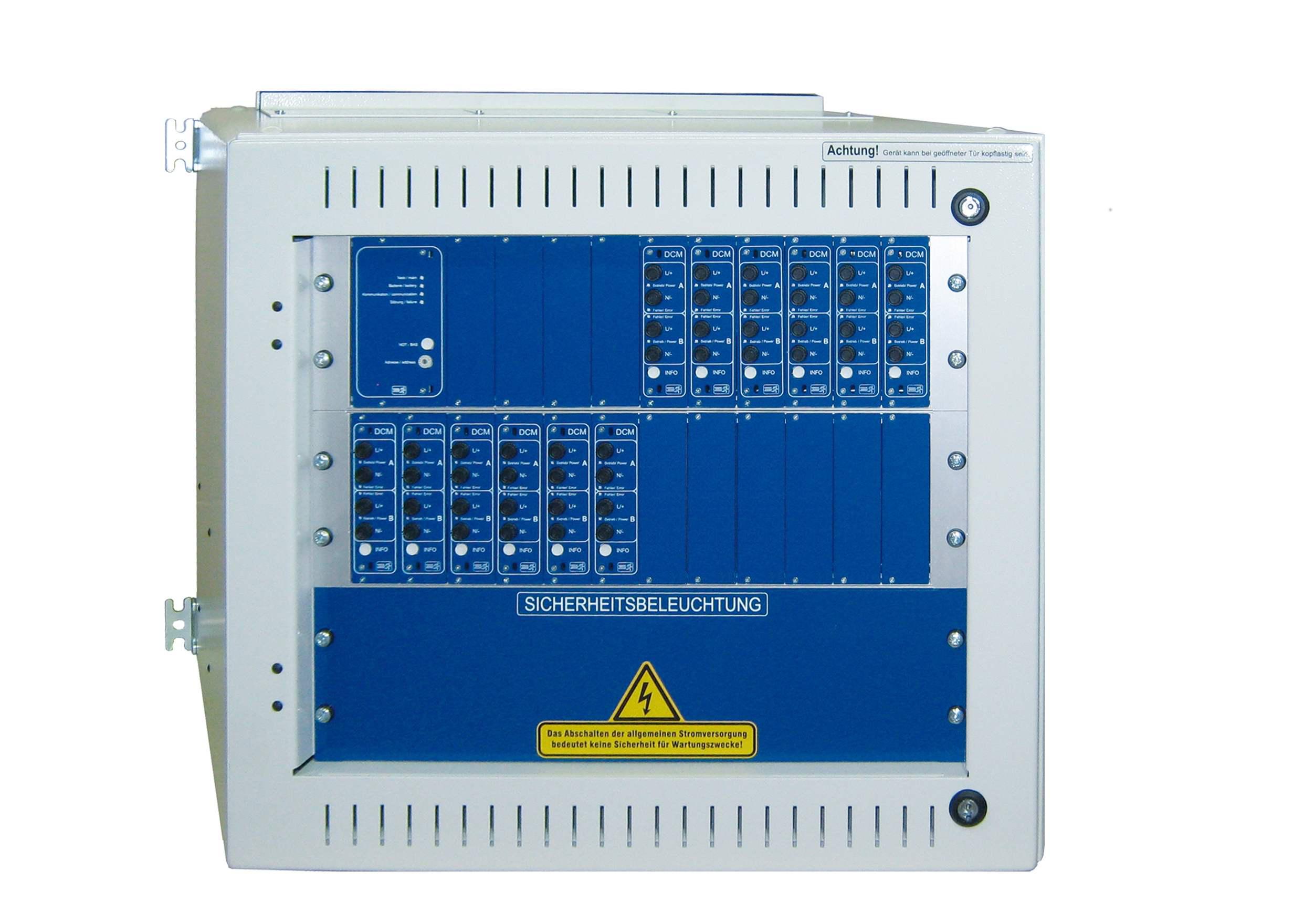 Unterstation inkl. Prozessor für MultiControl für max. 12DCM