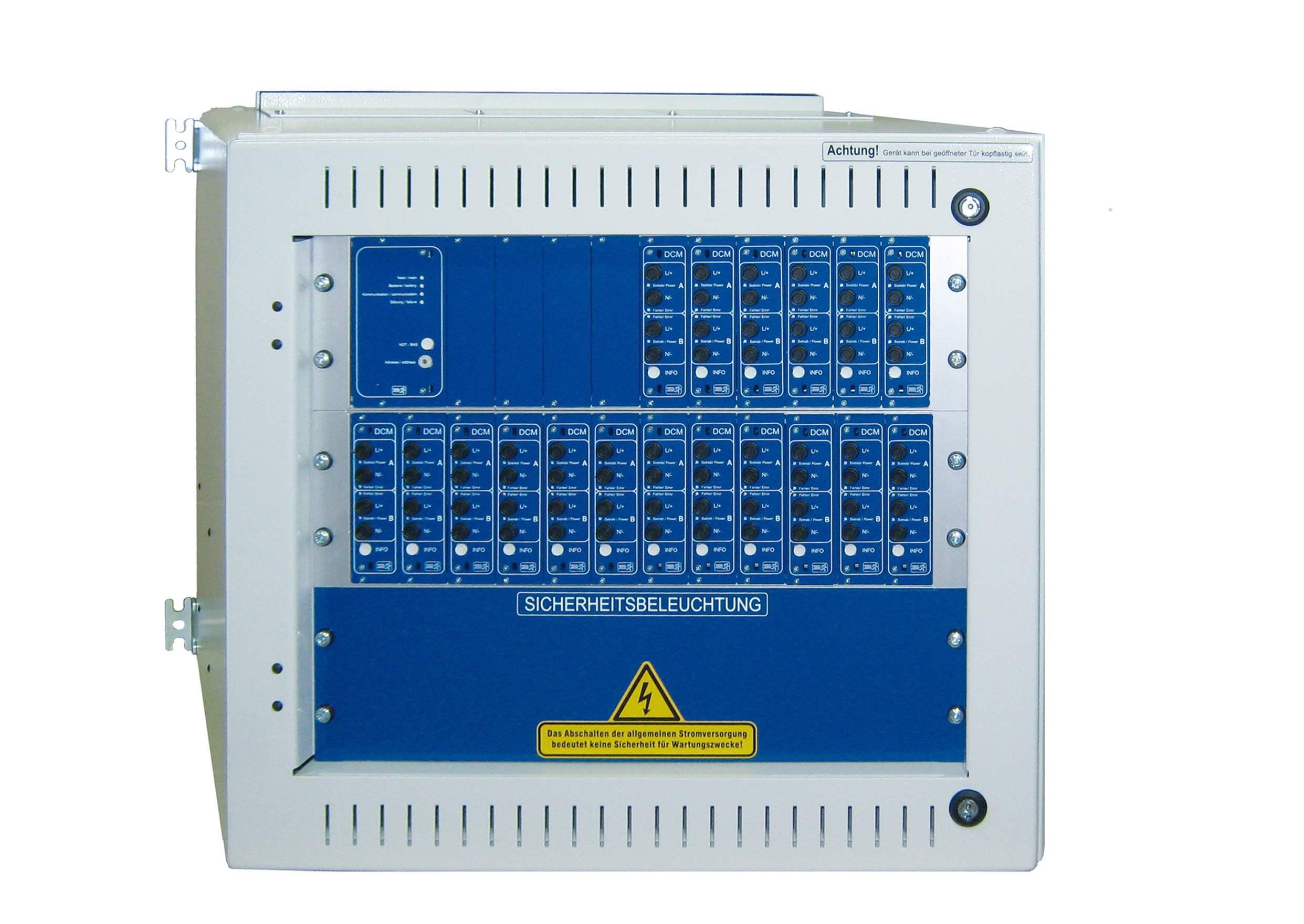 Unterstation inkl. Prozessor für MultiControl für max. 18DCM