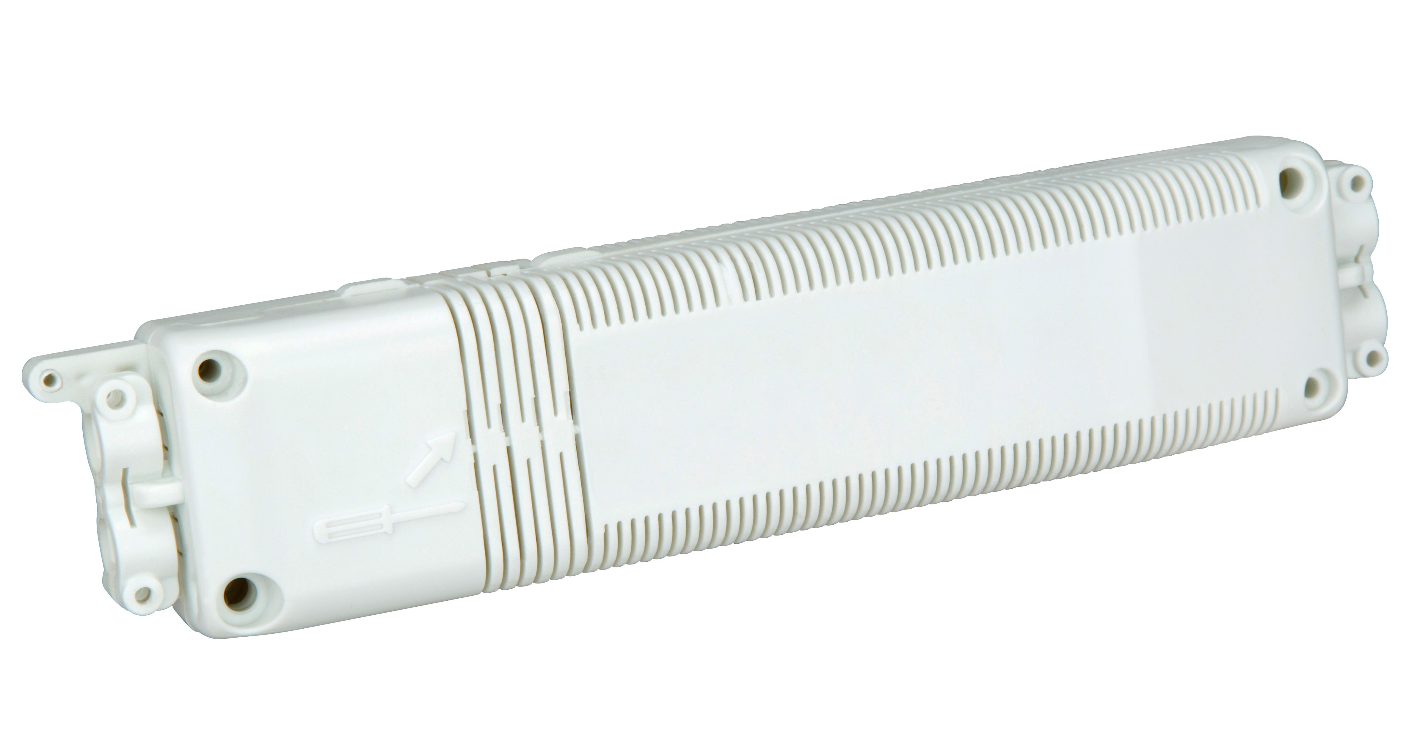 Umhausung für EVG, PC+ABS, UV-Schutz, schwer entflammbar
