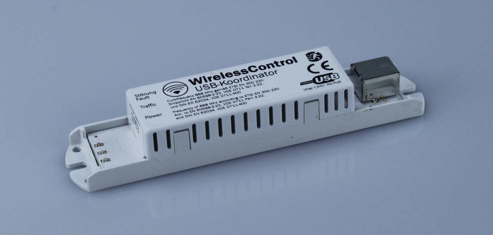 Koordinator USB auf WirelessControl Netzwerk