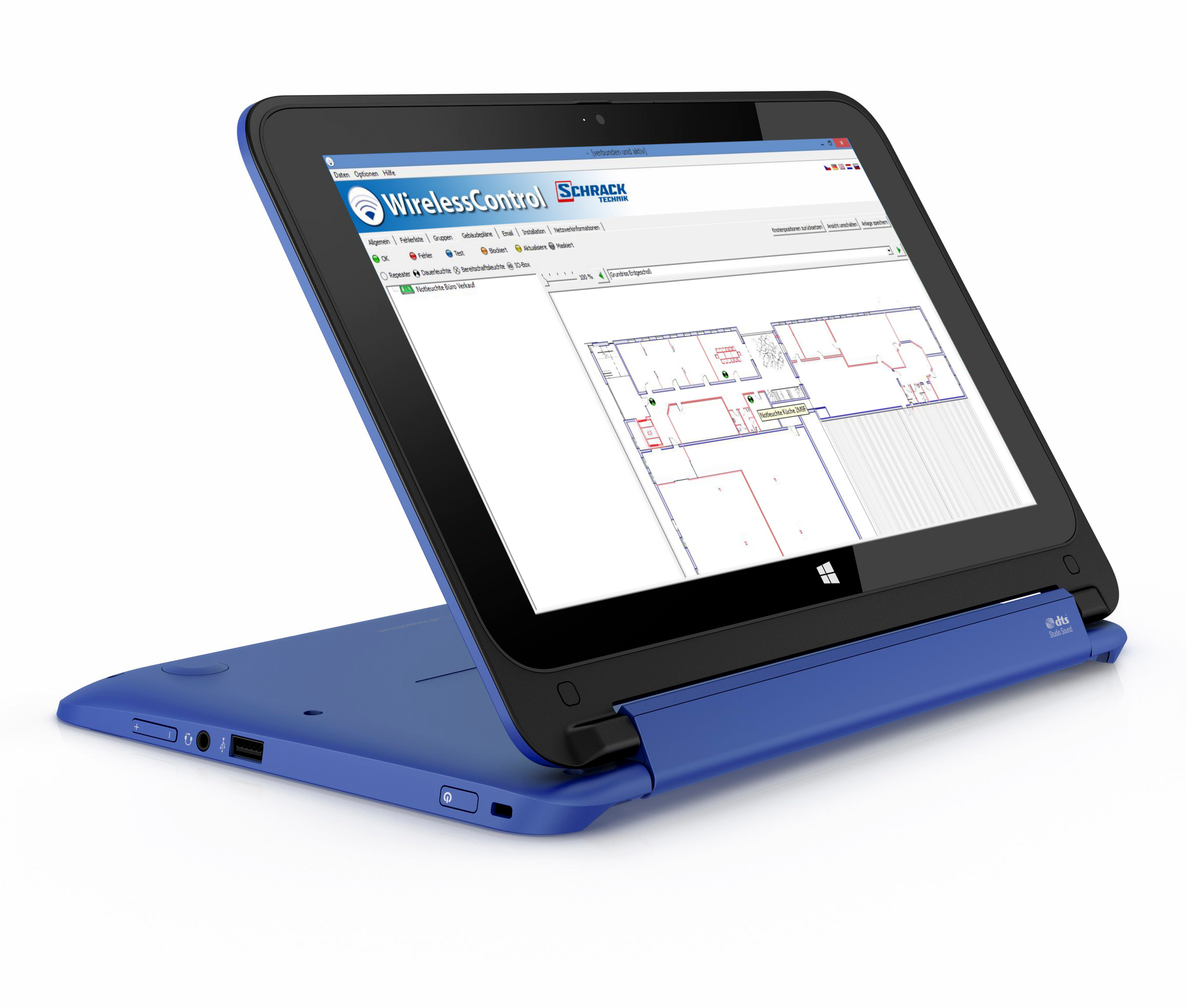 Netbook Touch inkl. WirelessControl Software