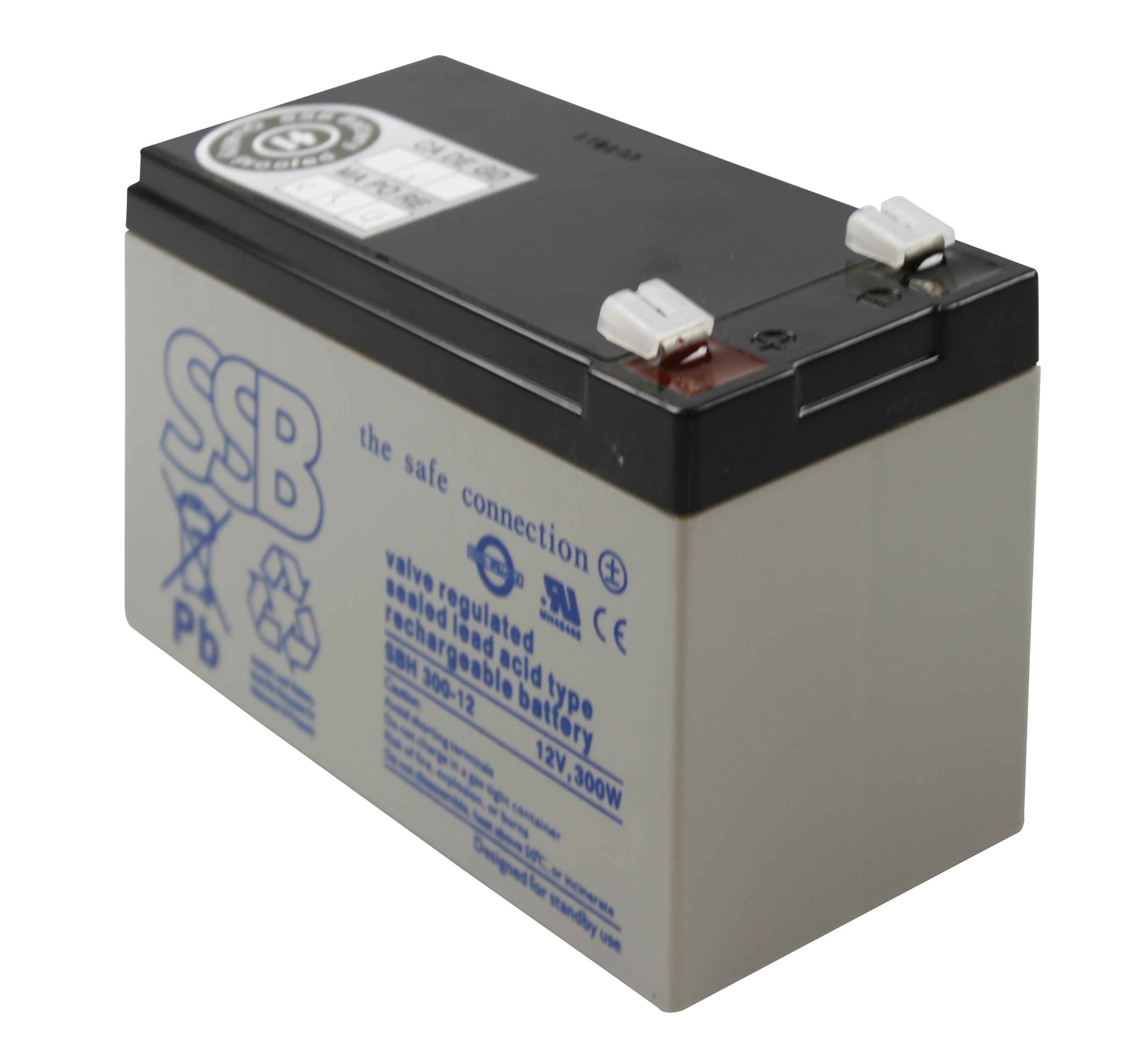 1 Stk Akku hochstromfähig 12V 300W für SIBE und USV Anwendungen OYSBH30012