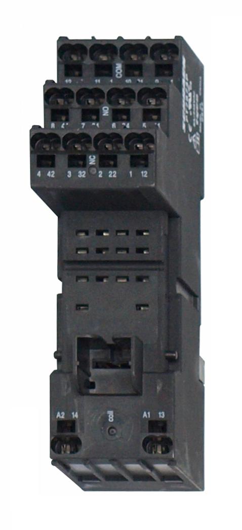 1 Stk Federkraft-Fassung, logische Ausführung, PT5-Relais, 14-pol. PT7874P---