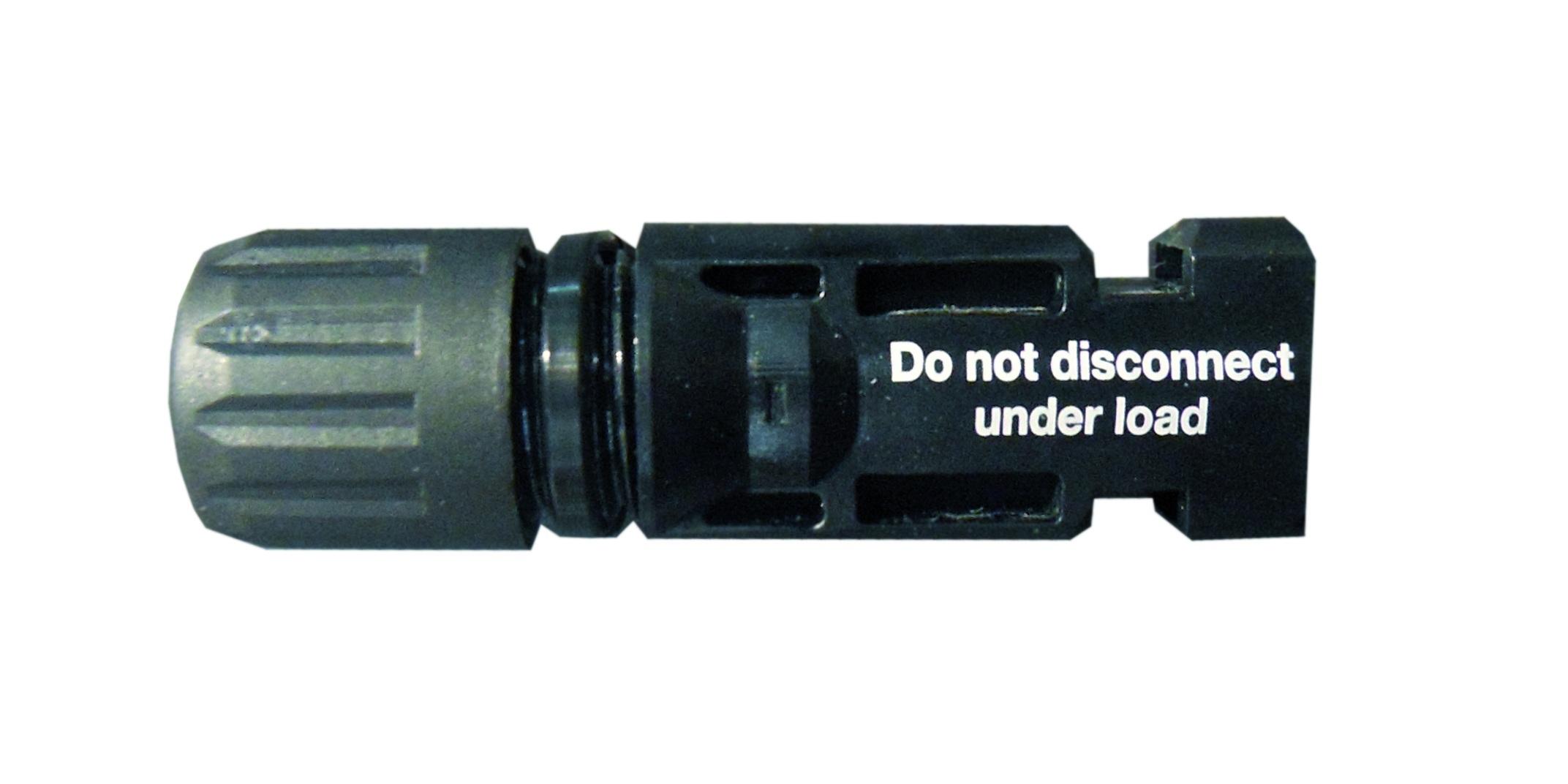 1 Stk Kupplungsstecker MC4 4-6mm² Ø-Kabelverschraubung 5,5 - 9mm PVA11000--