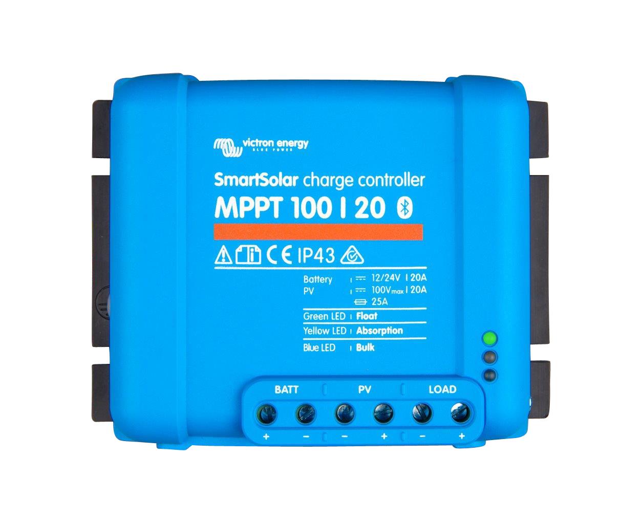 1 Stk Smartsolar Laderegler MPPT 100/20-20A (12/24V) PVBC10020S