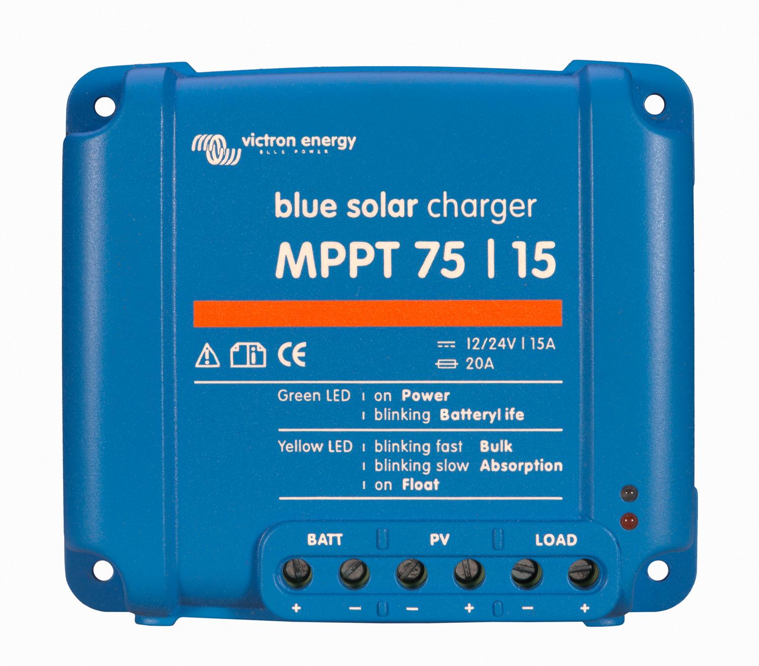 1 Stk Laderegler MPPT 75/15-15A (12/24V-15A) PVBC2415--