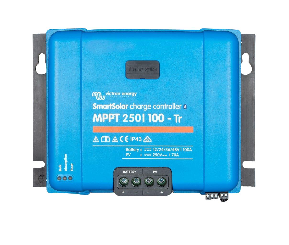1 Stk Smartsolar Laderegler MPPT 250/100-100A (12/24/48V) PVBC25010S