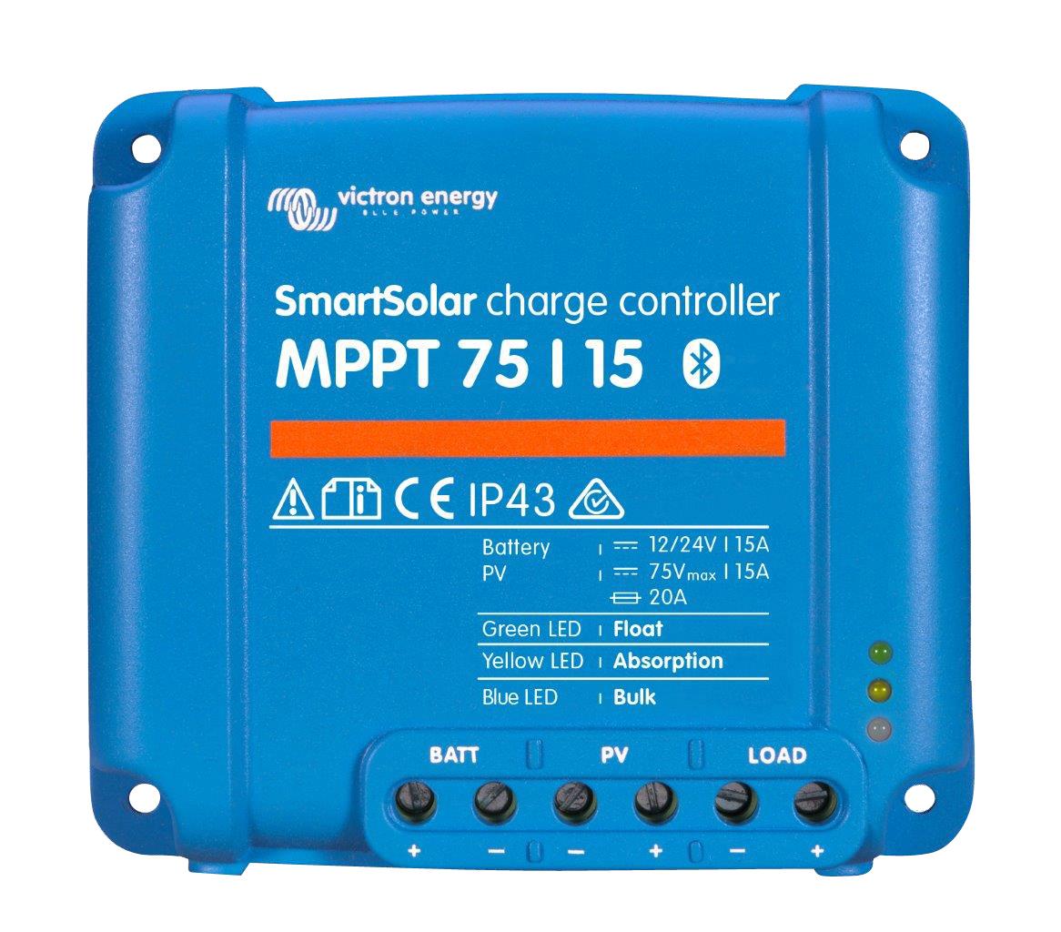 1 Stk Smartsolar Laderegler MPPT 75/15-15A (12/24V) PVBC7515-S