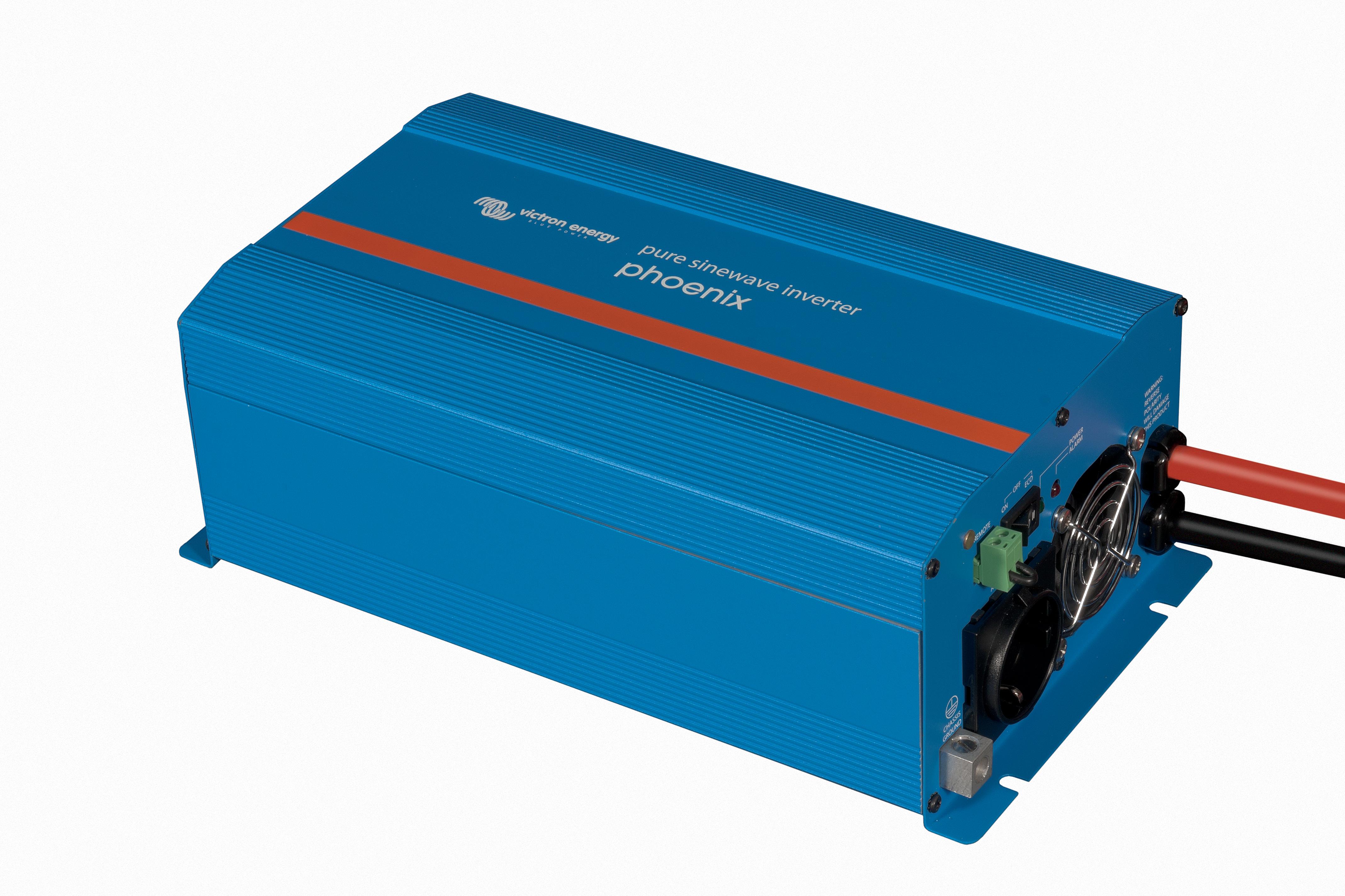 1 Stk Inselwechselrichter 24V 1200W mit Schuko Steckdose PVBI1224-A