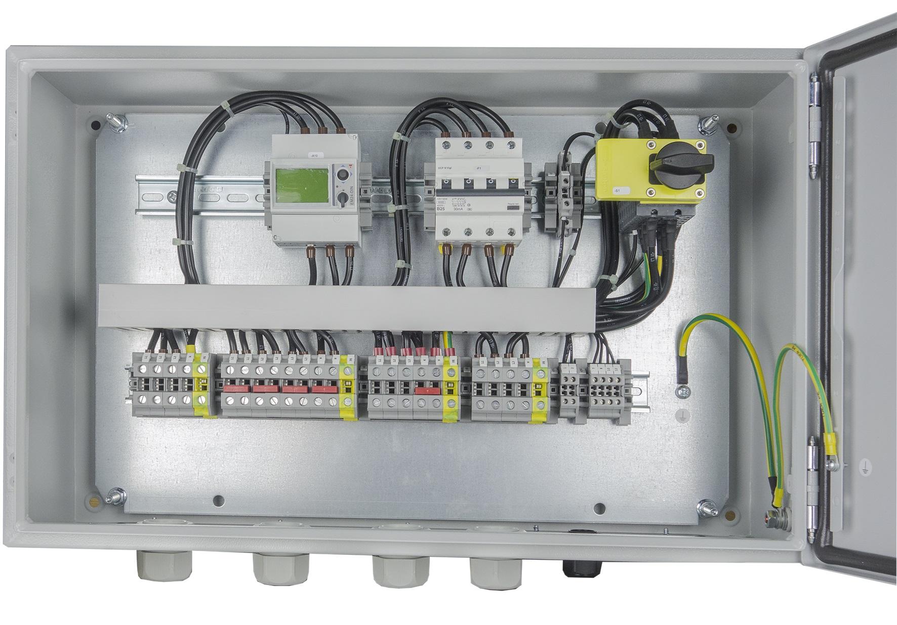 1 Stk Verteilerschrank Notstrombox R20 PVES0019--