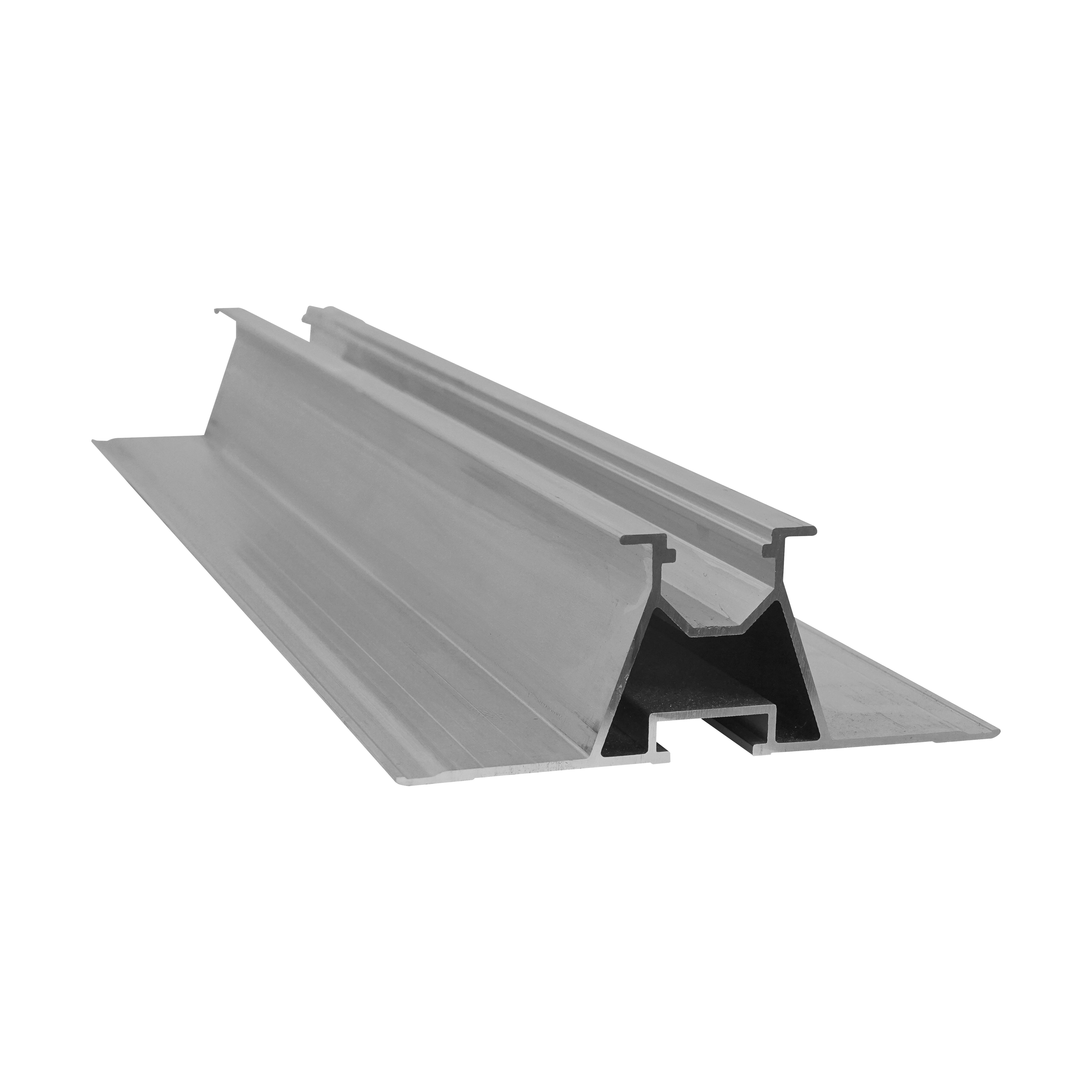 1 Stk Dachmontagekurzschienen Set Trapezdach für hohe Schneelasten PVF31100--