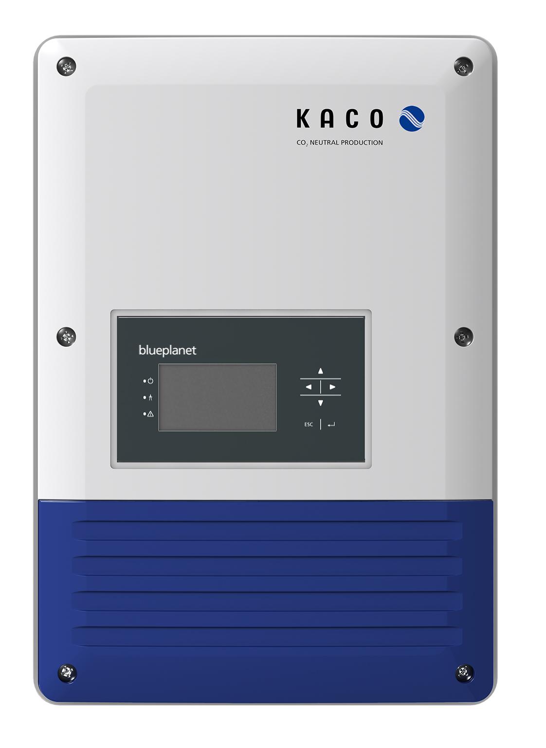 1 Stk Kaco blueplanet 10.0 TL3 3ph IP65 2 MPP-Tracker  PVI50100--
