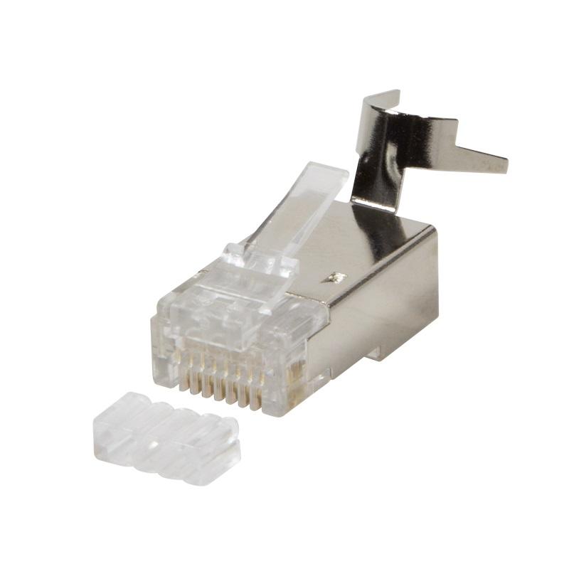 1 VE RJ45 Stecker passend für Kabeln bis AWG23, 50 Stück Q7151792S7 100 Stück