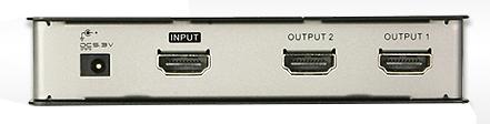 1 Stk HDMI-Splitter, HDMI 1.3b, 2-fach, 1 Signal auf 2 Geräte Q7170182--