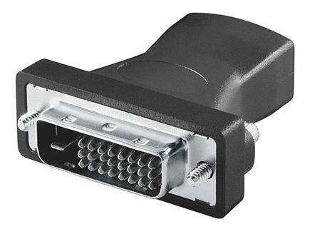 1 Stk HDMI/DVI Adapter, HDMI19 Buchse - DVI-D(24+1) Stecker Q7173846--