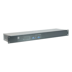1 Stk Switch 16xRJ45 10/100 (PoE), 19, Netzteil extern, 120W QL1601W120