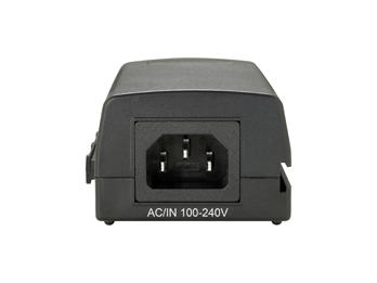 1 Stk PoE+ Injektor (802.3at), Gigabit, Netzteil intern, 30W QLPOI3000-