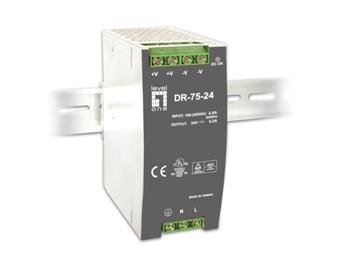 1 Stk Industrielle Stromversorgung, 24VDC, 75W, Hutschiene QLPOW2430-