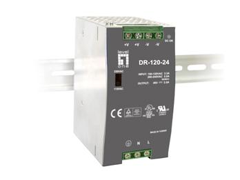 1 Stk Industrielle Stromversorgung, 24VDC, 120W, Hutschiene QLPOW2440-