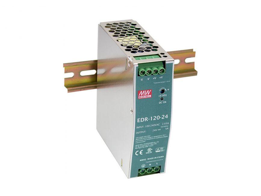 1 Stk Industrielle Stromversorgung, 48VDC, 120W, Hutschiene QLPOW4840-
