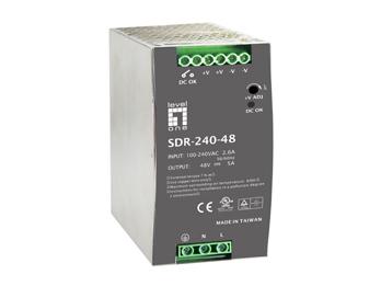 1 Stk Industrielle Stromversorgung, 48VDC, 240W, Hutschiene QLPOW4850-