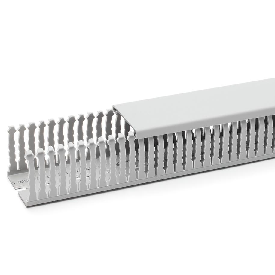 1 m Verdrahtungskanal 80x60mm (BxH) Pb-Frei, RAL 7030 RH229216--