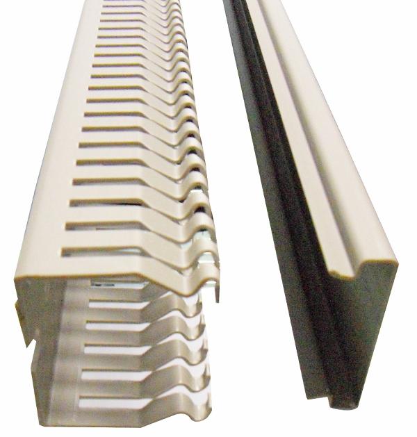 1 m Verdrahtungskanal Type BE 50x50mm (BxH), RAL 7030 RH725162--