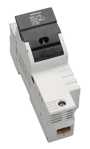 1 Stk Halter für zylindrische Sicherungen 125A, 1-polig, 690V SI312810--