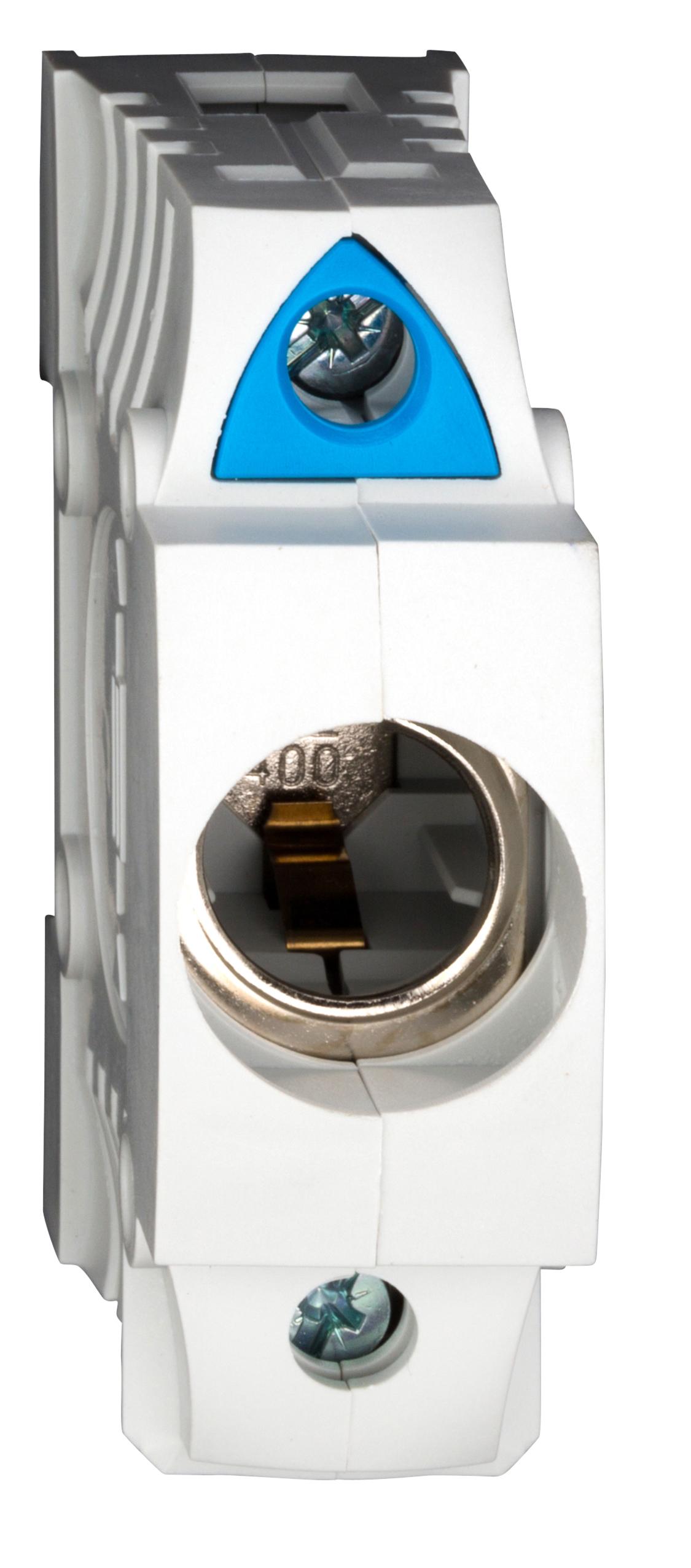 1 Stk D0-Einbau-Sicherungssockel D02, 1-polig, BGV A3, schnappbar SI312910--
