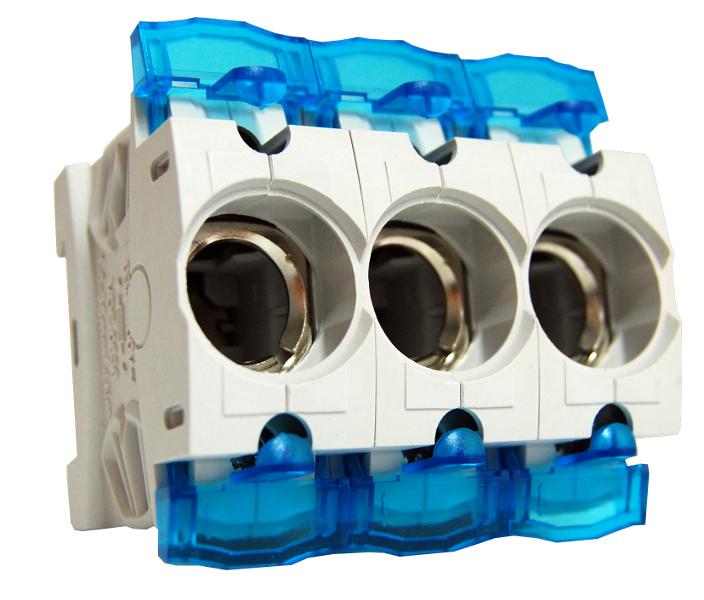 1 Stk D02-Sicherungssockel, E 18, 3-polig mit Abdeckung,63A,Neozed SI313060--