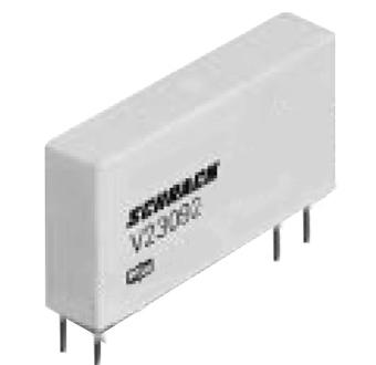 1 Stk SNR-Schmales Netzrelais, 1 Wechsler, 12VDC, 6A SNR03012--