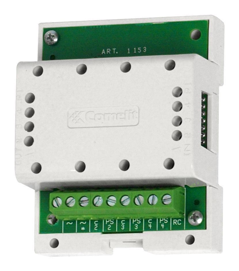 1 Stk Ruftongenerator für elektronischen Ruf, 3 Ausgänge, 12VAC SP115300--