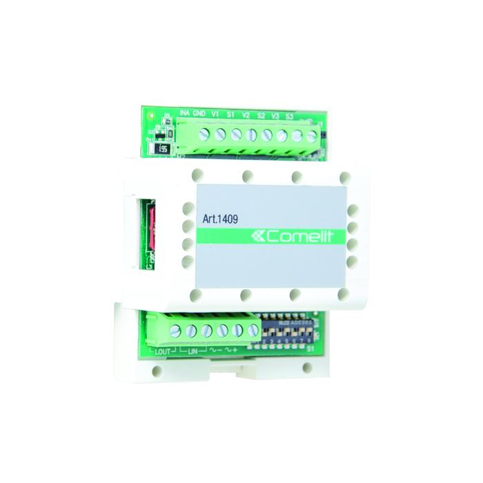 1 Stk Modul zur Einbindung von ext. Kameras bei 2-Draht Systemen SP1409----