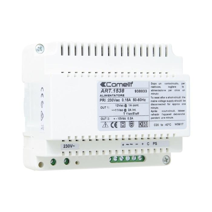 1 Stk Netzgerät für traditionelle Anlagen (4+1), 12V AC / 10V DC SP153800--