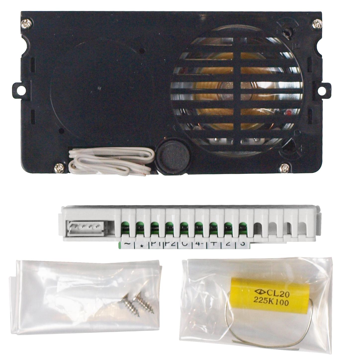 1 Stk Einbaulautsprecher+Lautstärkenregulierung,wasserdicht,trad. SP160000--