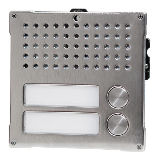 1 Stk Audiofrontmodul mit 2 Tasten, VANDALCOM SP3262I2--