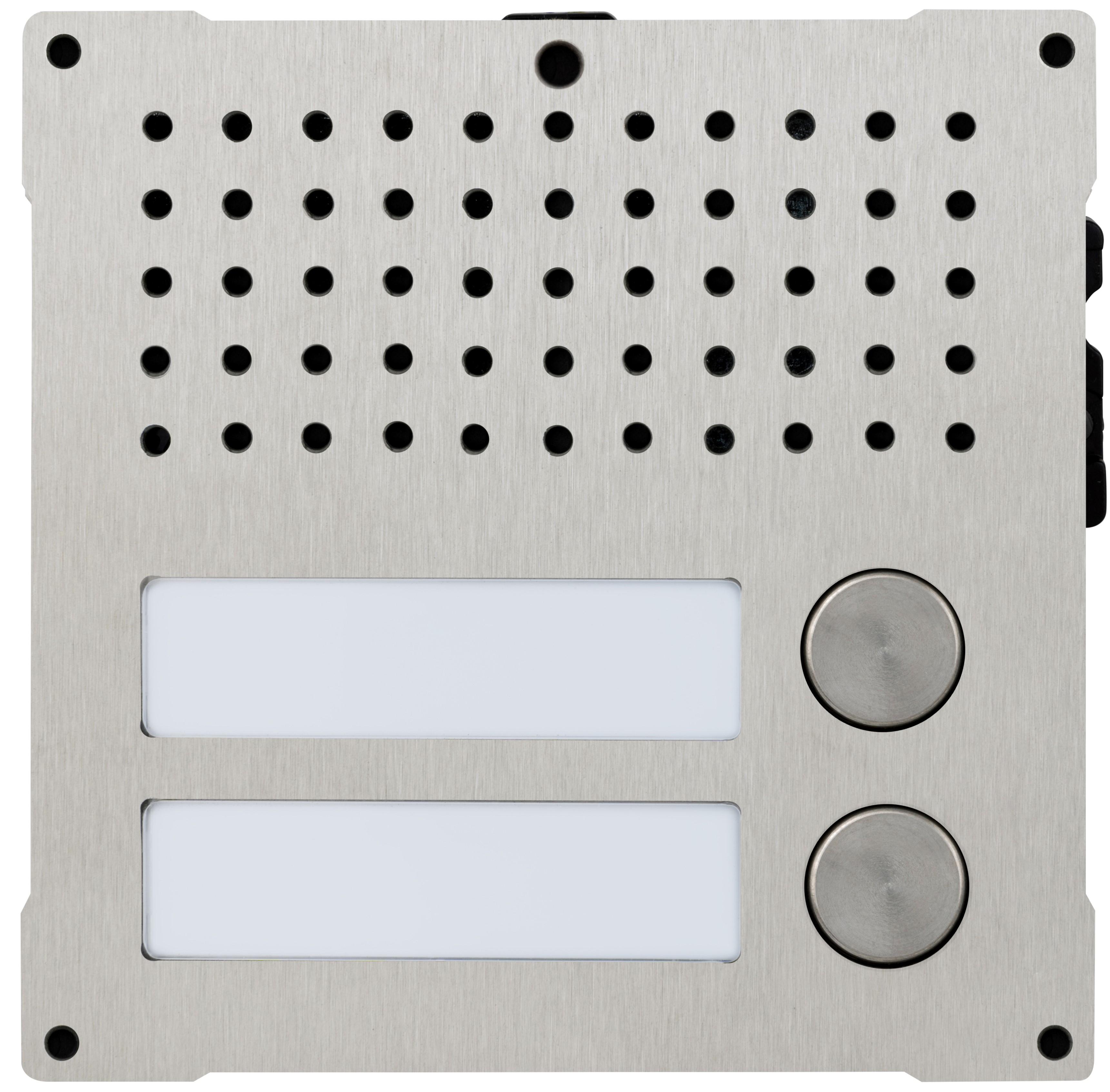 1 Stk Audiofrontmodul mit 2 Tasten, VANDALCOM SP3262S2--