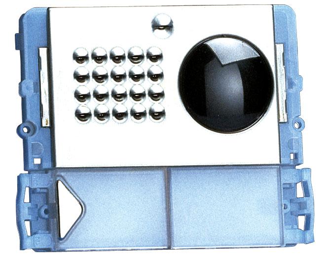 1 Stk Video-Modul für Aussenstelle Powercom mit 1 Klingeltaste SP332101--