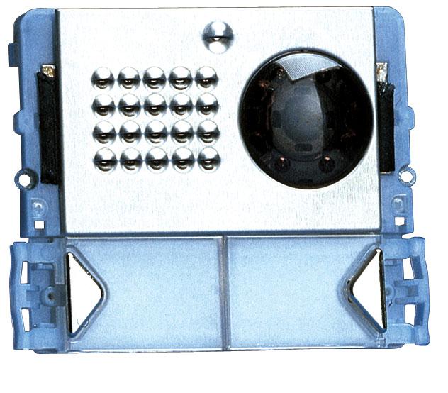 1 Stk Video-Modul für Aussenstelle Powercom mit 2 Klingeltasten SP332102--