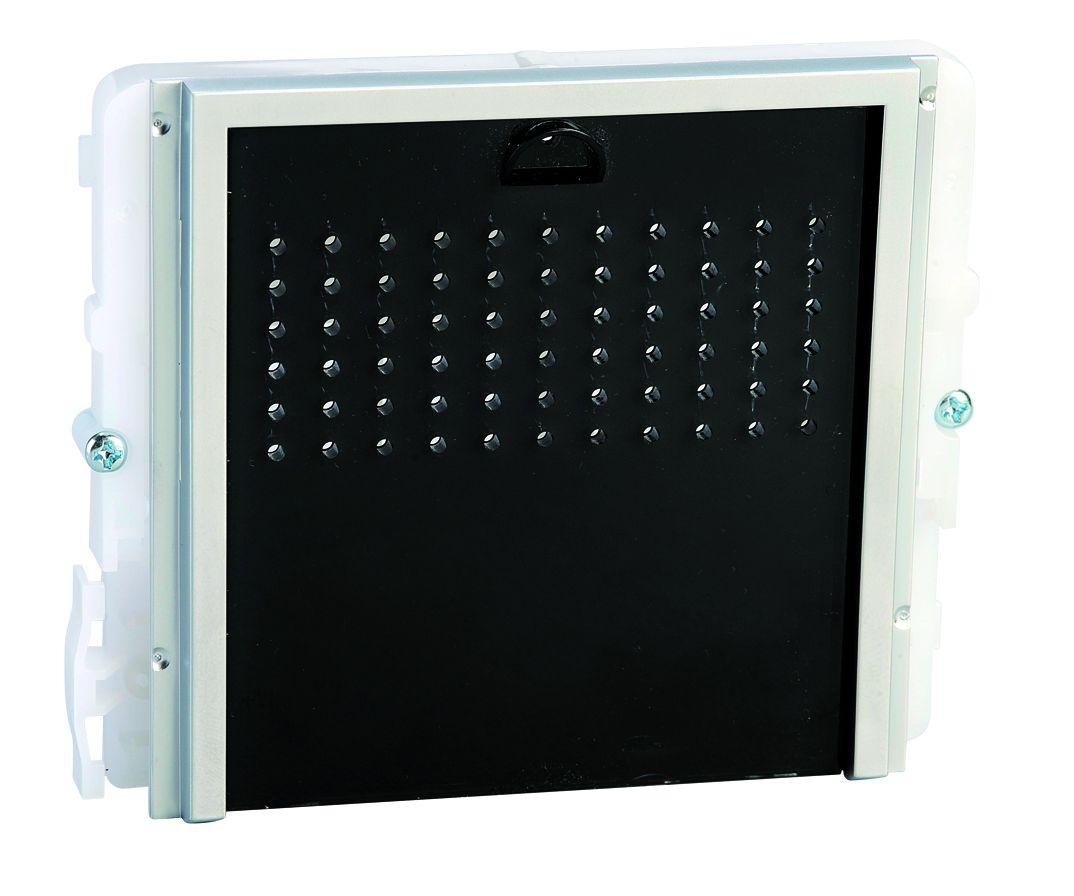 1 Stk Audiofrontmodul ohne Taste IKALL schwarz SP33400S--