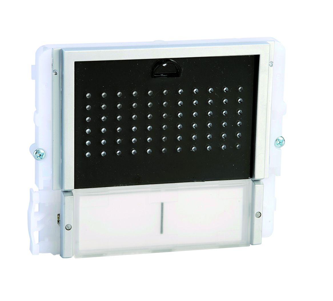 1 Stk Audiofrontmodul mit 2 Tasten IKALL schwarz SP33402S--
