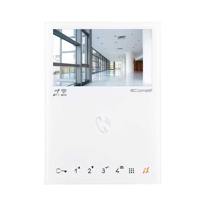 1 Stk MINI HANDSFREE WIFI 4,3 Farbmonitor, weiß, für VIP Systeme SP6742W---
