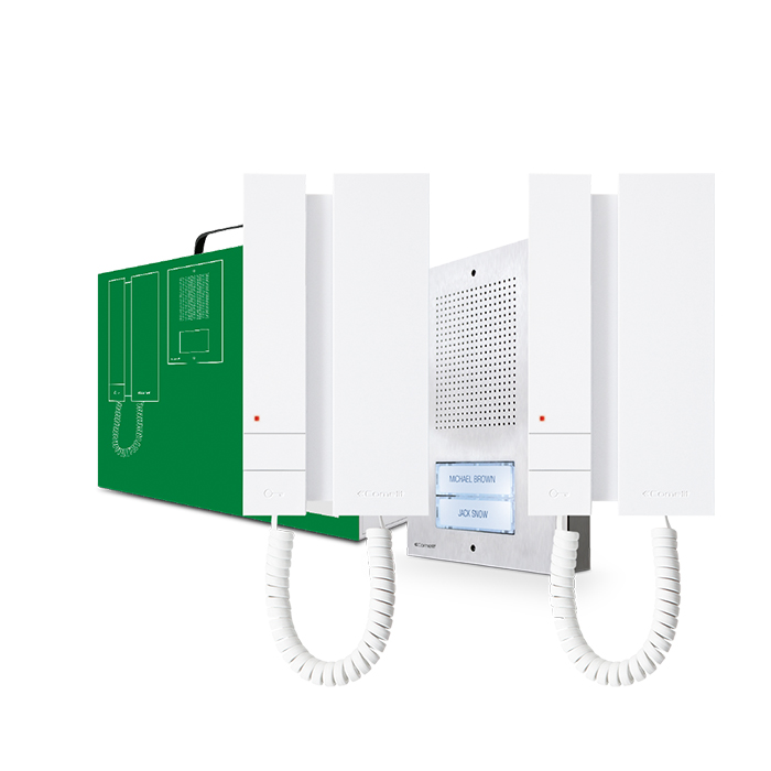 1 Stk Zweifamilien-Audio-Set EXTRA-MINI 5-Drahtsystem SPKAE5062-