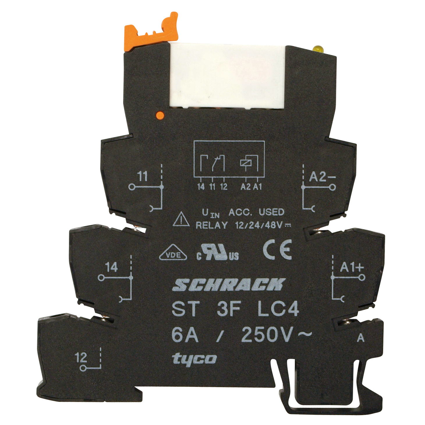 1 Stk SNR-Schraubfassung ST3FLC4---