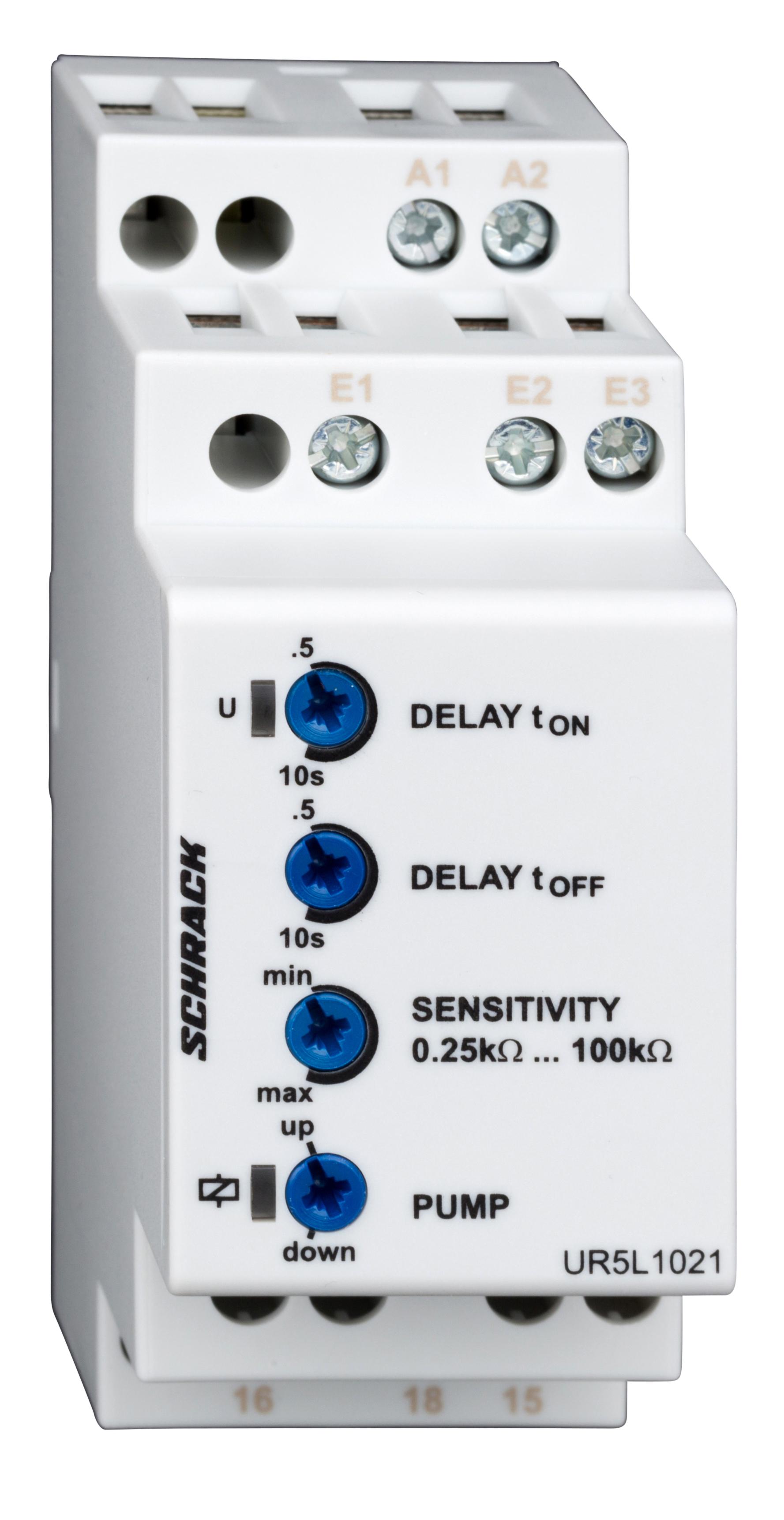 1 Stk Niveauüberwachungsrelais für Flüssigkeiten, 1W, 5A, 250VAC UR5L1021--